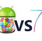 iOS 7 vs. Android 4.2 Jelly Bean | UI design, Multitasking, Lock Screen