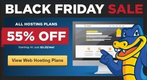 Hostgator Blackfriday sale – 80% off on all hosting plans -Hurry !